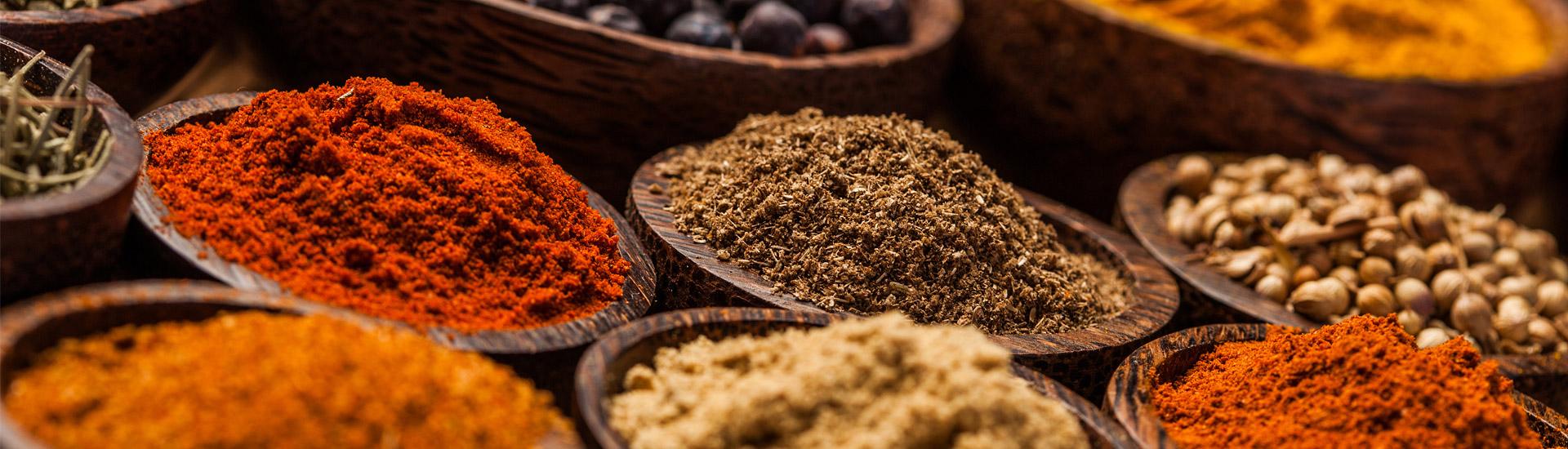 Kryddor påsar