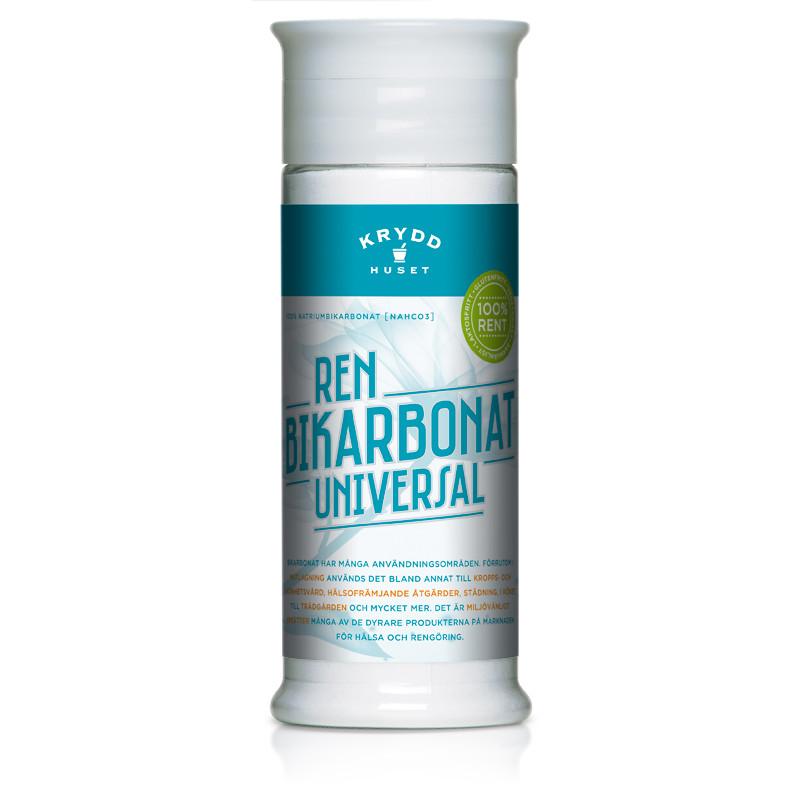 bikarbonat utan aluminium
