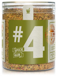 Spice rub herbs & spicy. 300 g.