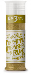 Spice rub No 3 Pineapple, habanero & rum